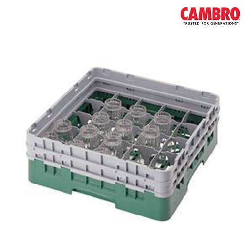 Cambro  Camrack 25 Compartment Glass Rack Max. Glass Size H 17.4cm x D 8.7cm (6.9