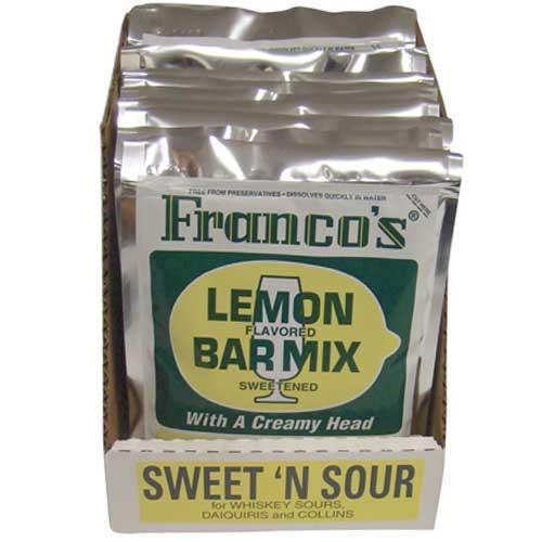 Franco's Lemon Flavoured Bar Mix 170g