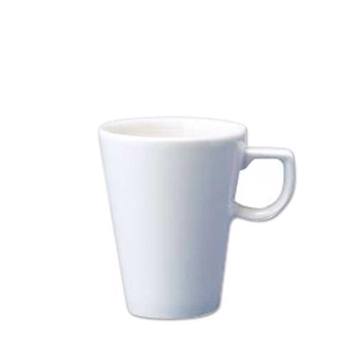 Churchill Plain White Cafe Latte Mug 14oz