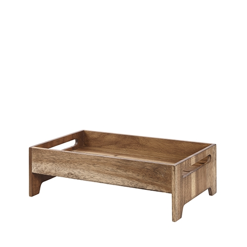Churchill Wood  Nesting Riser 42cm x 25.8cm x 13.2cm Brown