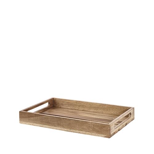 Churchill Wood  Nesting Riser 39.7cm x 25.8cm x 5cm Brown