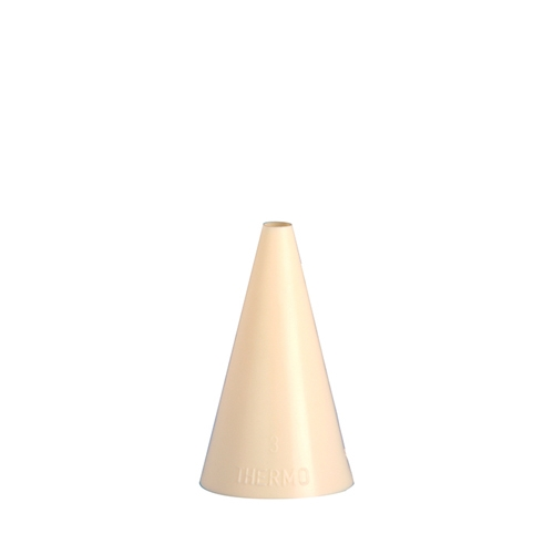 Plain Icing/Piping Nozzle 15mm  Cream