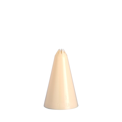Star Icing/Piping Nozzle 7mm  Cream