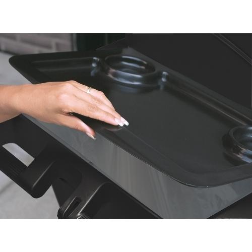 Rubbermaid Housekeeping Trolley Refuse Cover Black