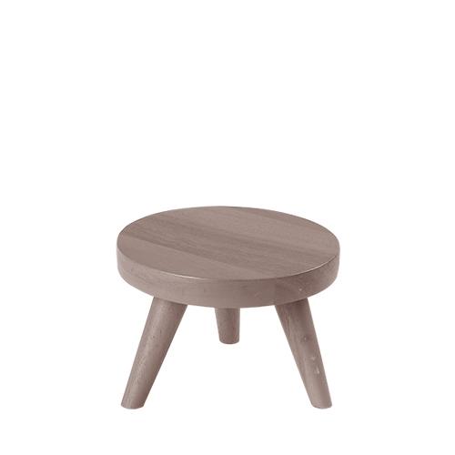 Churchill Small  Wood Stand 15cm x 10cm Graphite