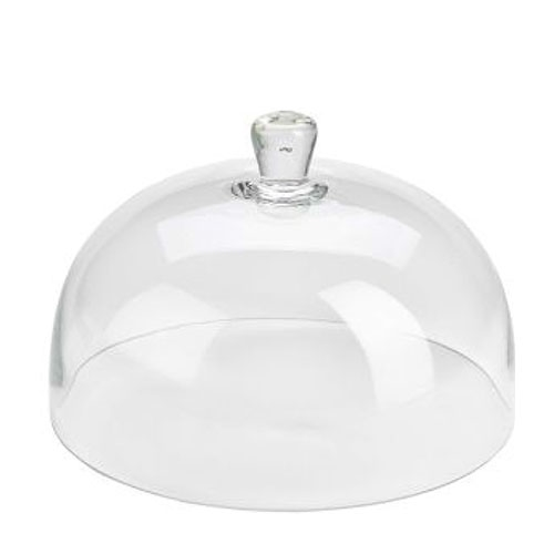 Glass Cake/Plate Cover 29.8 x 19cm Clear