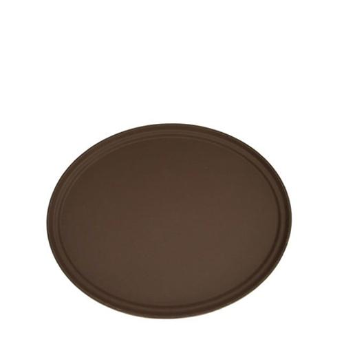 """Cambro  Non-Slip Round Tread Tray 14"""" Brown"""