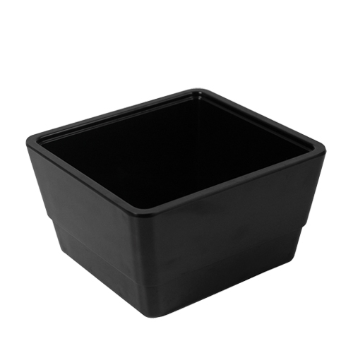 Dalebrook Melamine Multi Crock 162 x 173 x 100mm Black