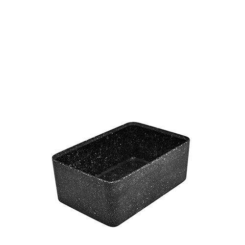 Dalebrook Kata Melamine Crock 17.5 x 26 x 10cm Black