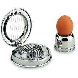 Cast Aluminium Egg Slicer 11cm Silver