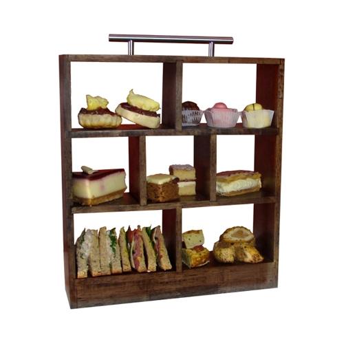 Wooden High Tea Cake Stand