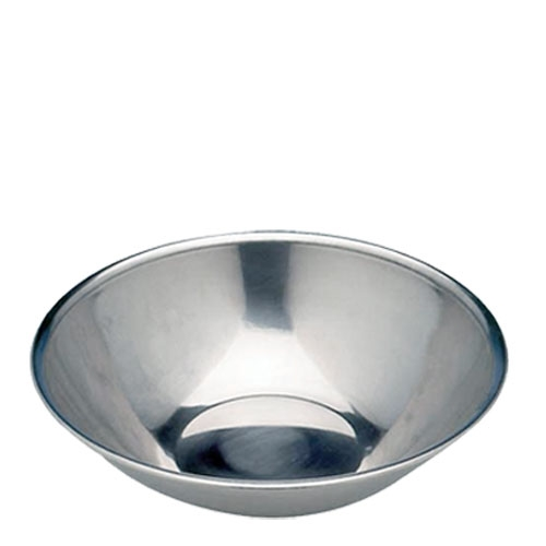 Sunnex Stainless Steel Mixing Bowl Rolled Edge 23cm Silver