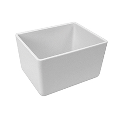 Dalebrook Melamine  Chunky Crock 130x162x100mm Polar White