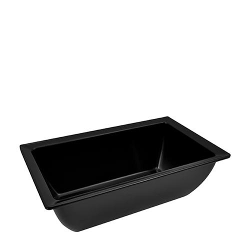 Dalebrook Classico  Melamine Crock Tray 1/4  Black