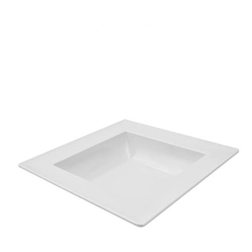 Dalebrook Melamine Dover Square Bowl 250x250x60mm White