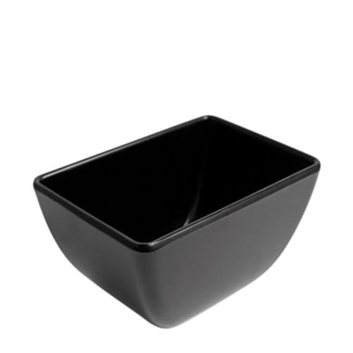 Dalebrook Melamine  Dover Pot 150x100x80mm Black