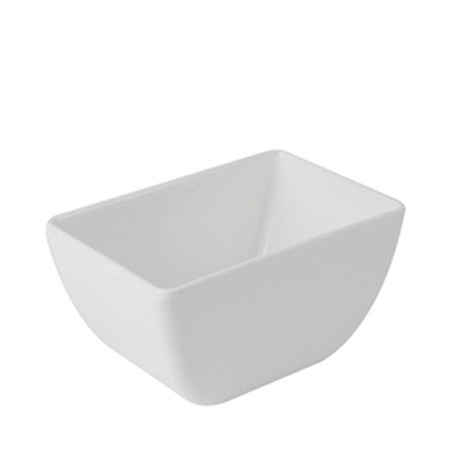 Dalebrook Melamine  Dover Pot 150x100x80mm White
