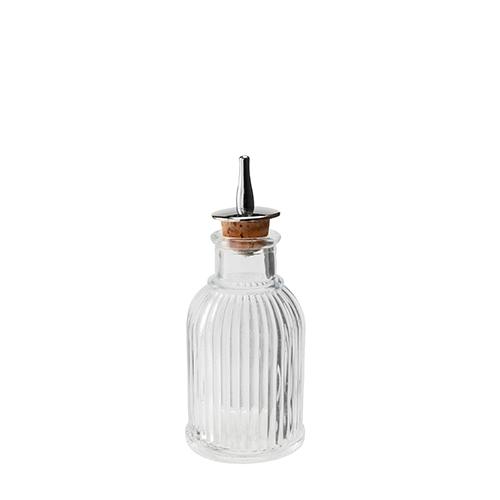 Beaumont Mezclar Liberty Bitters Bottle 3.5oz Clear