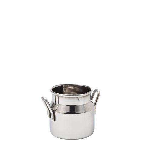 Utopia Creative Tableware S/S Mini Milk Churn 7cl Silver