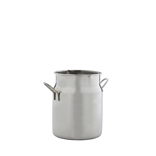 Stainless Steel  Mini Milk Churn 16oz Silver