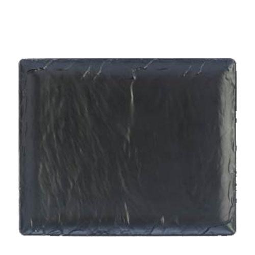 Steelite Melamine  Platter GN 1/2 Slate Black