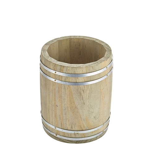 Genware Miniature  Wooden Barrel 11.5 x 13.5cm