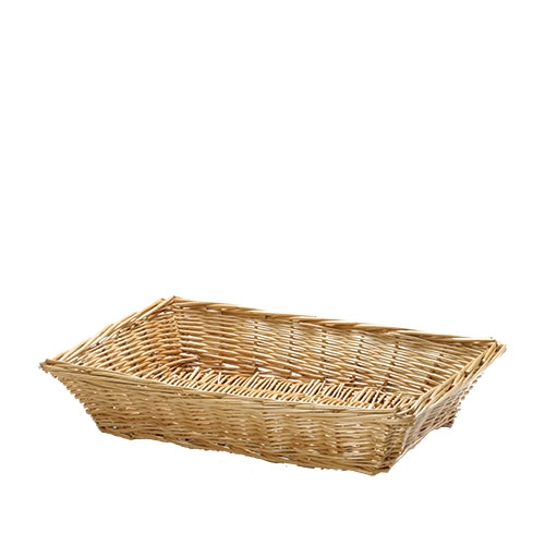 Tablecraft Willow Display Basket 14.25