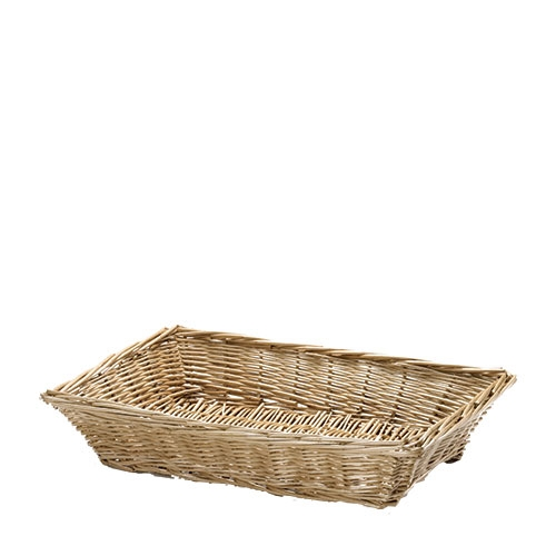 Tablecraft Willow Display Basket 18