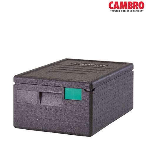 EPP Cam GoBox Cambro GoBox Insulated Carrier 35.5L  EPP160 600mm (W) x 400mm (D) x 257mm (H) Black