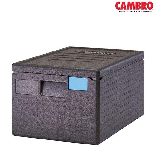 EPP Cam GoBox Cambro GoBox Insulated Carrier 46Ltr EPP180 600mm (W) x 400mm (D) x 316mm (H) Black