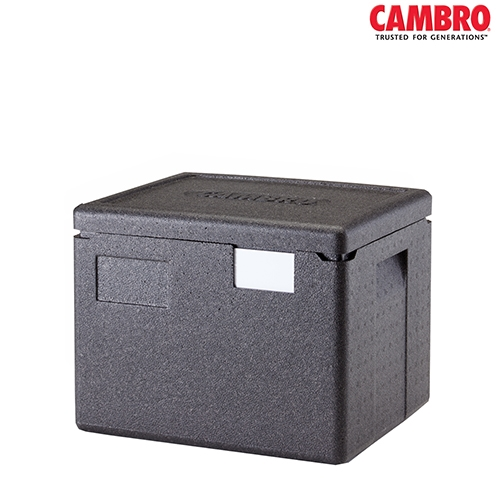 EPP Cam GoBox Cambro GoBox Insulated Carrier 22.3Ltr EPP280 390mm (W) x 330mm (D) x 316mm (H) Black