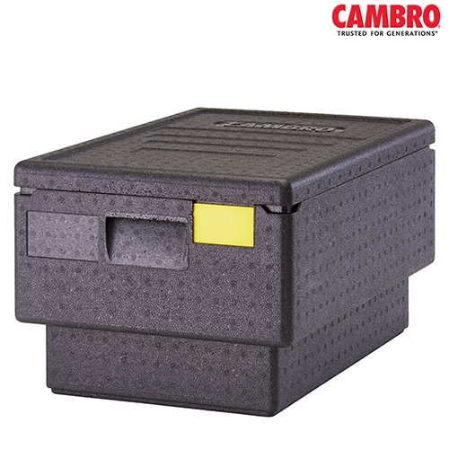 EPP Cam GoBox Cambro GoBox Insulated Carrier EPP180S 600mm (W) x 400mm (D) x 282mm (H) Black