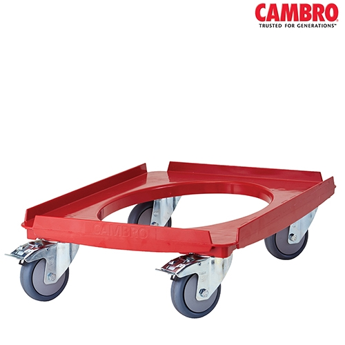 EPP Cam GoBox Cambro Camdolly for Cam GoBox CD3253EPP 710mm (W) x 530mm (D) x 230mm (H) Red