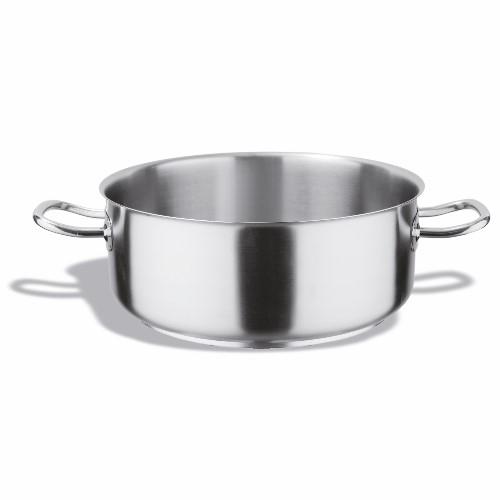 Pujadas Inox Pro Casserole Pan 24cm Silver