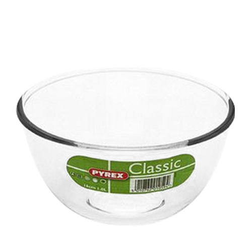 Pyrex Toughened Glass Bowl 2 litre Clear