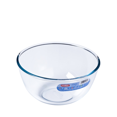 Pyrex Toughened Glass Bowl 2Ltr Clear