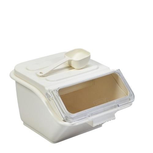 Polypropylene Ingredient Bin 7.5Ltr Cream