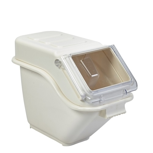 Polypropylene Ingredient Bin 18Ltr Cream
