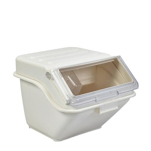 Polypropylene Ingredient Bin 38Ltr Cream