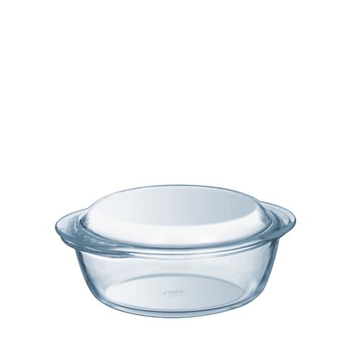 Toughened Glass Lidded Round Casserole Dish