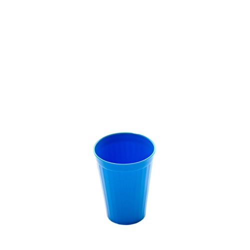 Harfield Polycarbonate Fluted Tumbler 20cl Medium Blue