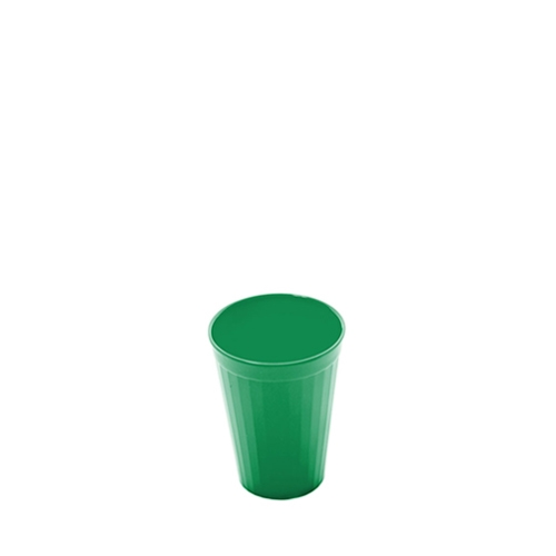 Harfield Polycarbonate Fluted Tumbler 20cl Emerald Green