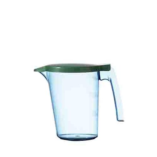Polycarbonate Water Jug & Lid 750ml Green