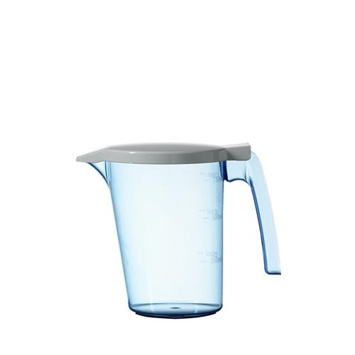Polycarbonate Water Jug & Lid 750ml White