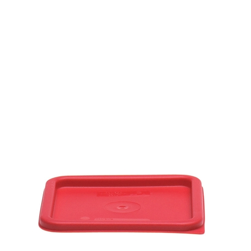 Cambro  Polycarbonate  Storplus Lid Fits 5.7L & 7.6L Red