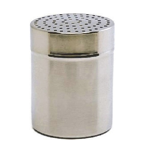 Stainless Steel Shaker Small Hole 70mm  Silver