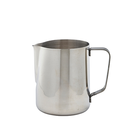 Stainless Steel Milk Jug 600ml Silver