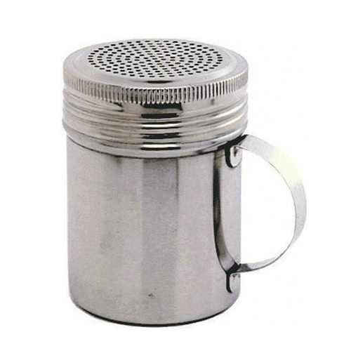 Stainless Steel Handled Shaker 10oz Silver