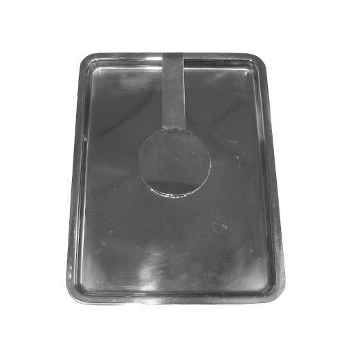 Stainless Steel Tip Tray/ Bill Presenter Silver