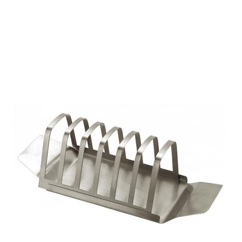 Stainless Steel Economy Toast Rack 6 Slice  Silver